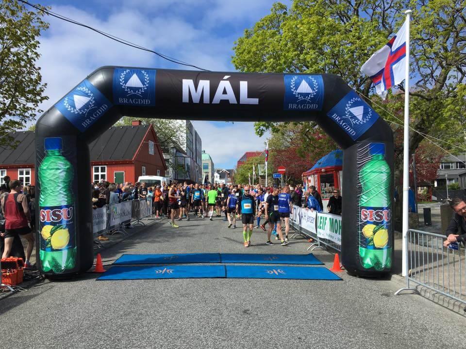 Hjálparfólk til Atlantic Airways Tórshavn marathon 2020