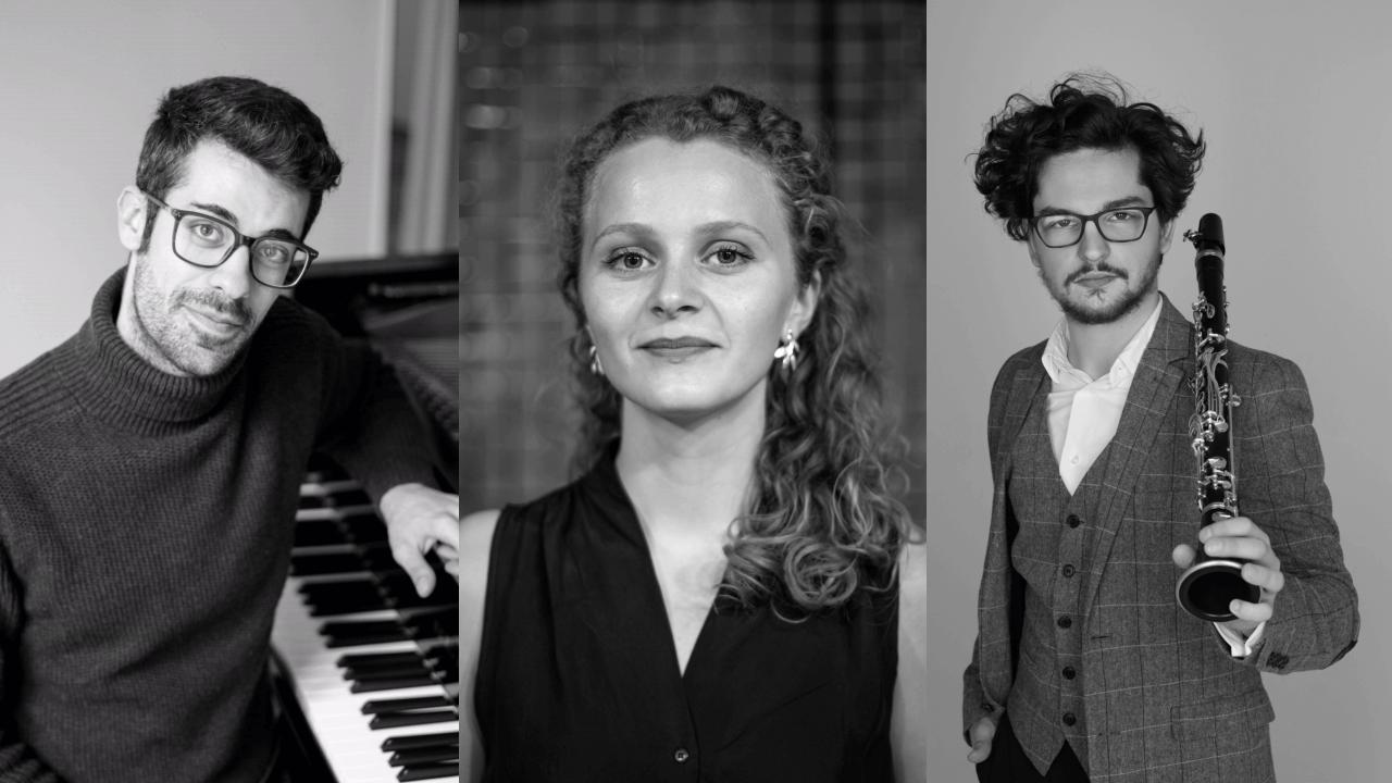 Heysttónar : Birita Poulsen, Zilvinas Brazauskas og Matteo Gobbini