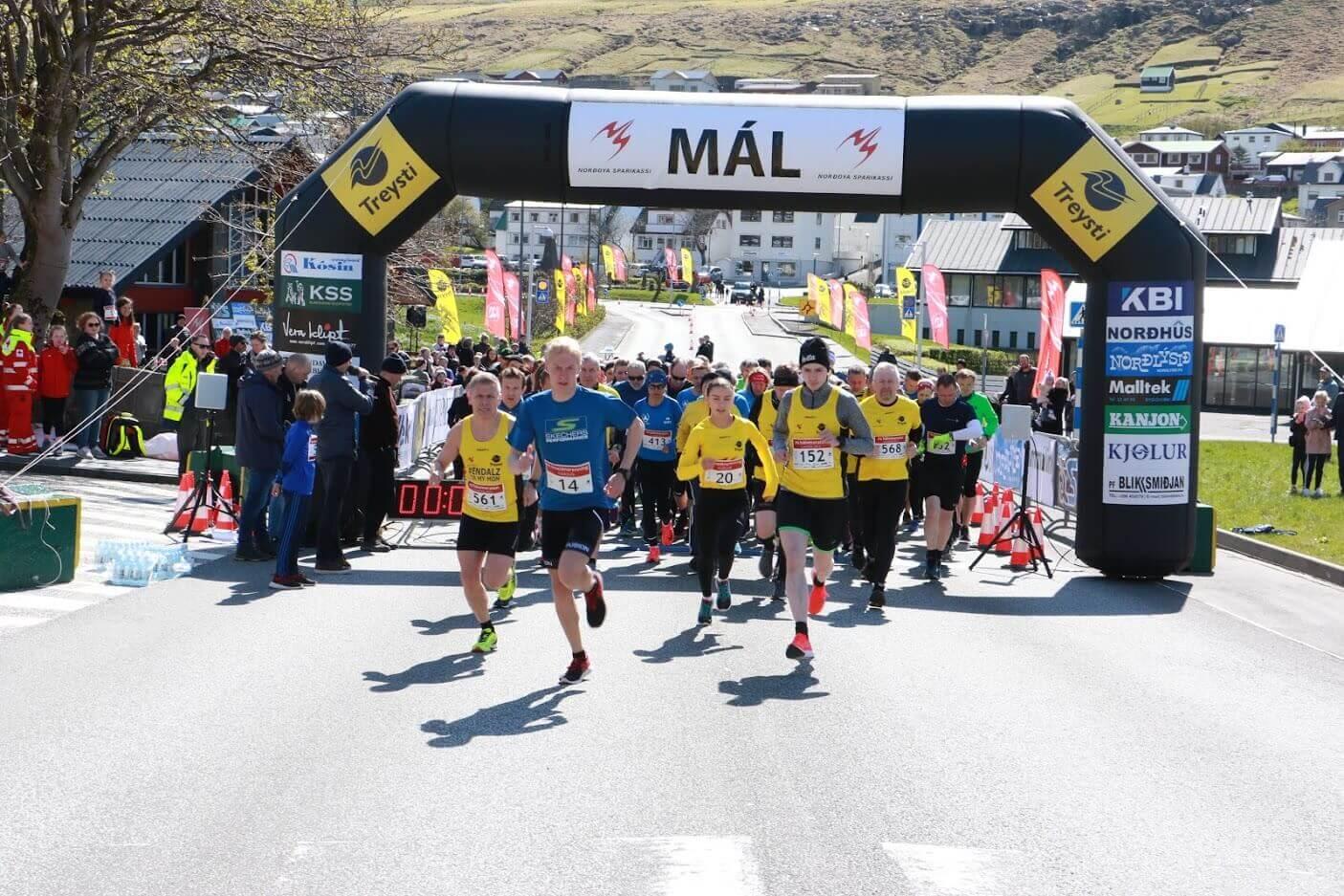 NS Hálvmaraton Klaksvík 2021/FM