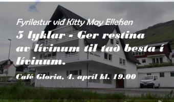 5 lyklar - Ger restina av lívinum til tað besta í lívinum