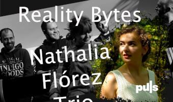 Dubult-konsert við Nathaliu Florez trio & Reality Bites og ábit