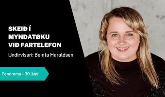 Skeið: Myndatøka við fartelefon