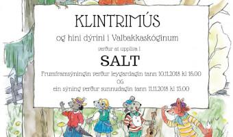 Klintrimús & hini dýrini í Valbakkaskóginum í SALT