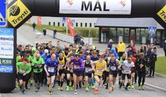 NS Hálvmaraton Klaksvík 2019