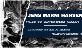 Konsert við Jens Marna Hansen