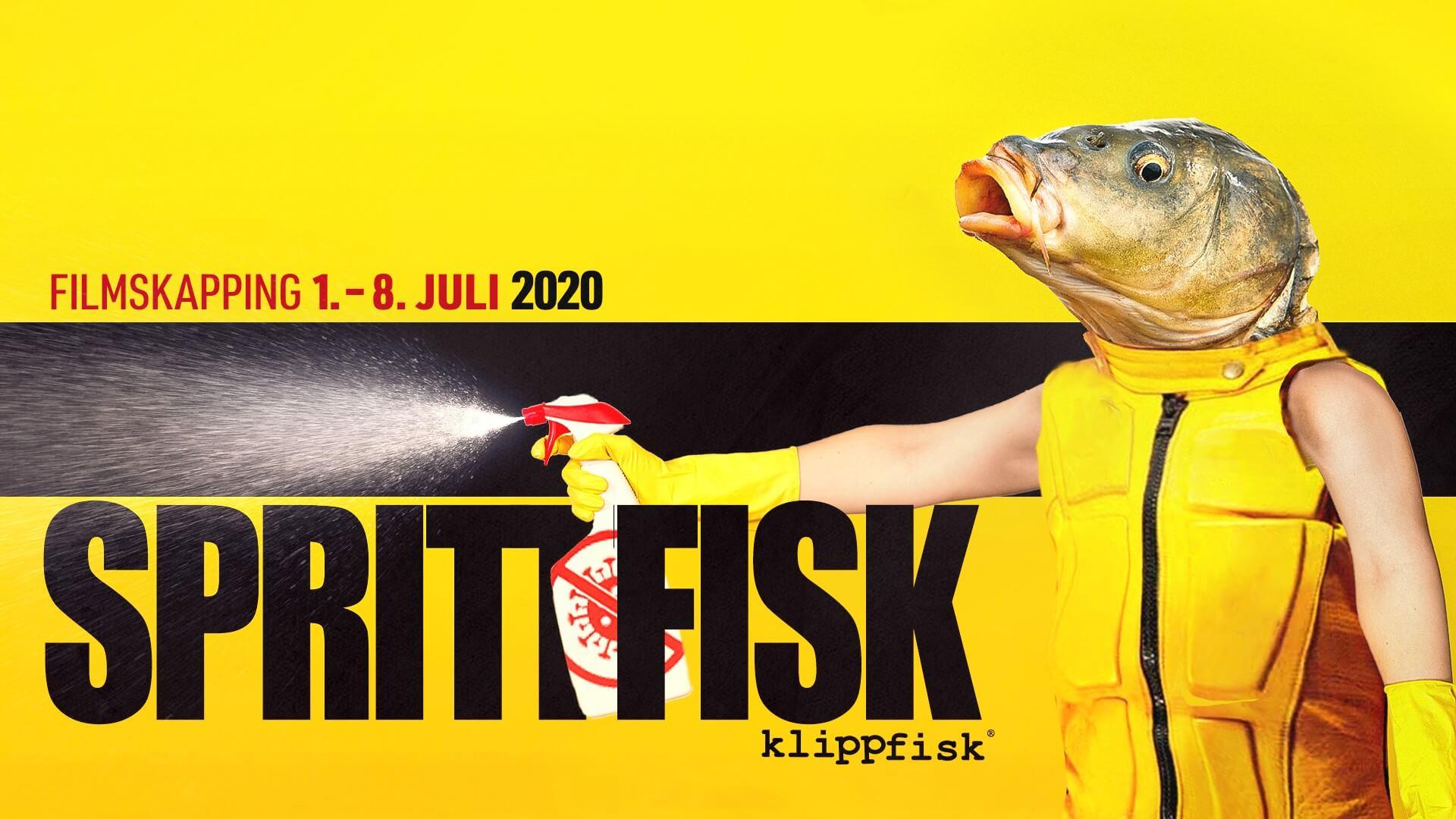 Sprittfisk - filmskapping hjá Klippfiski 1.-8. juli